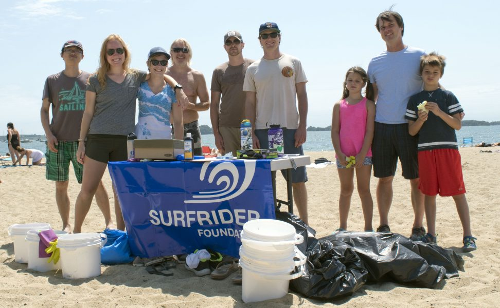MA Surfrider July Beach Cleanup Crew