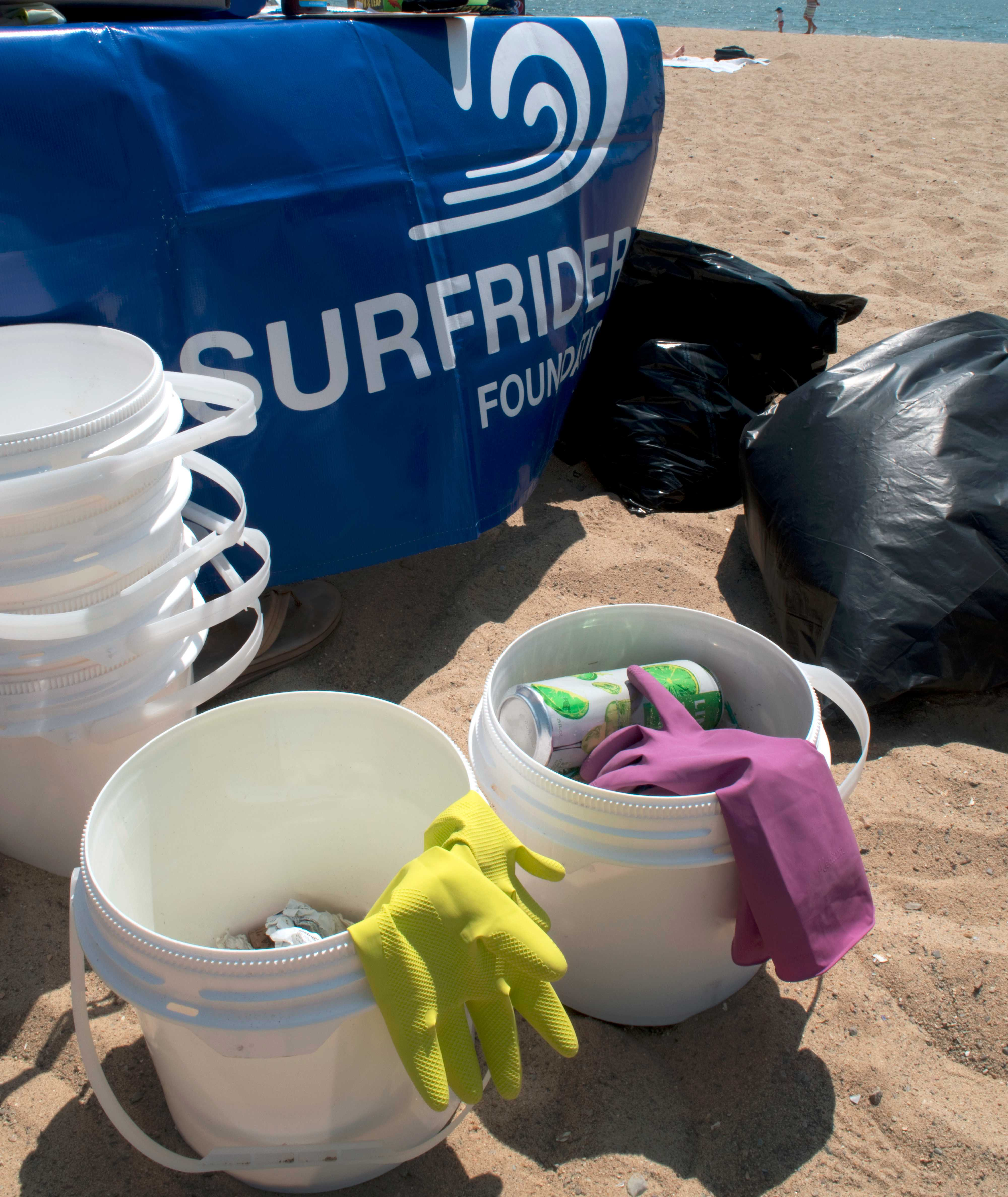 July Beach Cleanup: M Street Beach